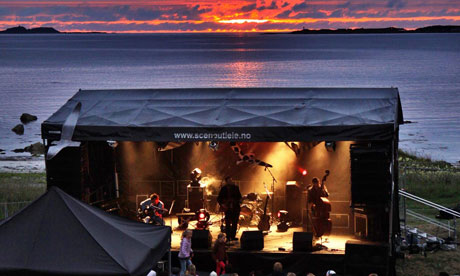Sommerfesten stage, Norway