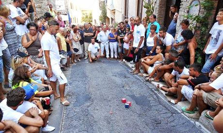 World square boules championship, Haut de Cagnes, France