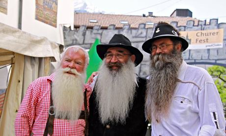 Alpine Beard Meeting in Chur, Switzerland