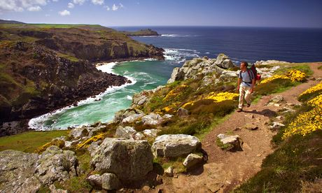 The cliffs at Zennor, north Cornwall