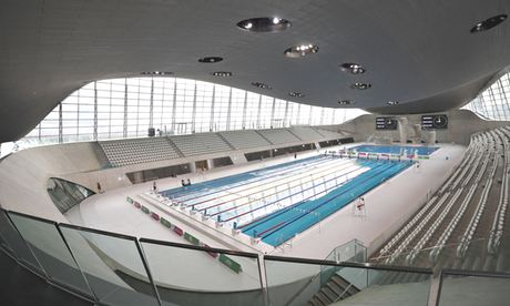 The queen elizabeth olympic park a visitor 39 s guide - Queen elizabeth olympic park swimming pool ...