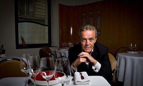 Alain Passard in his restaurant L'Arpège, in Paris.