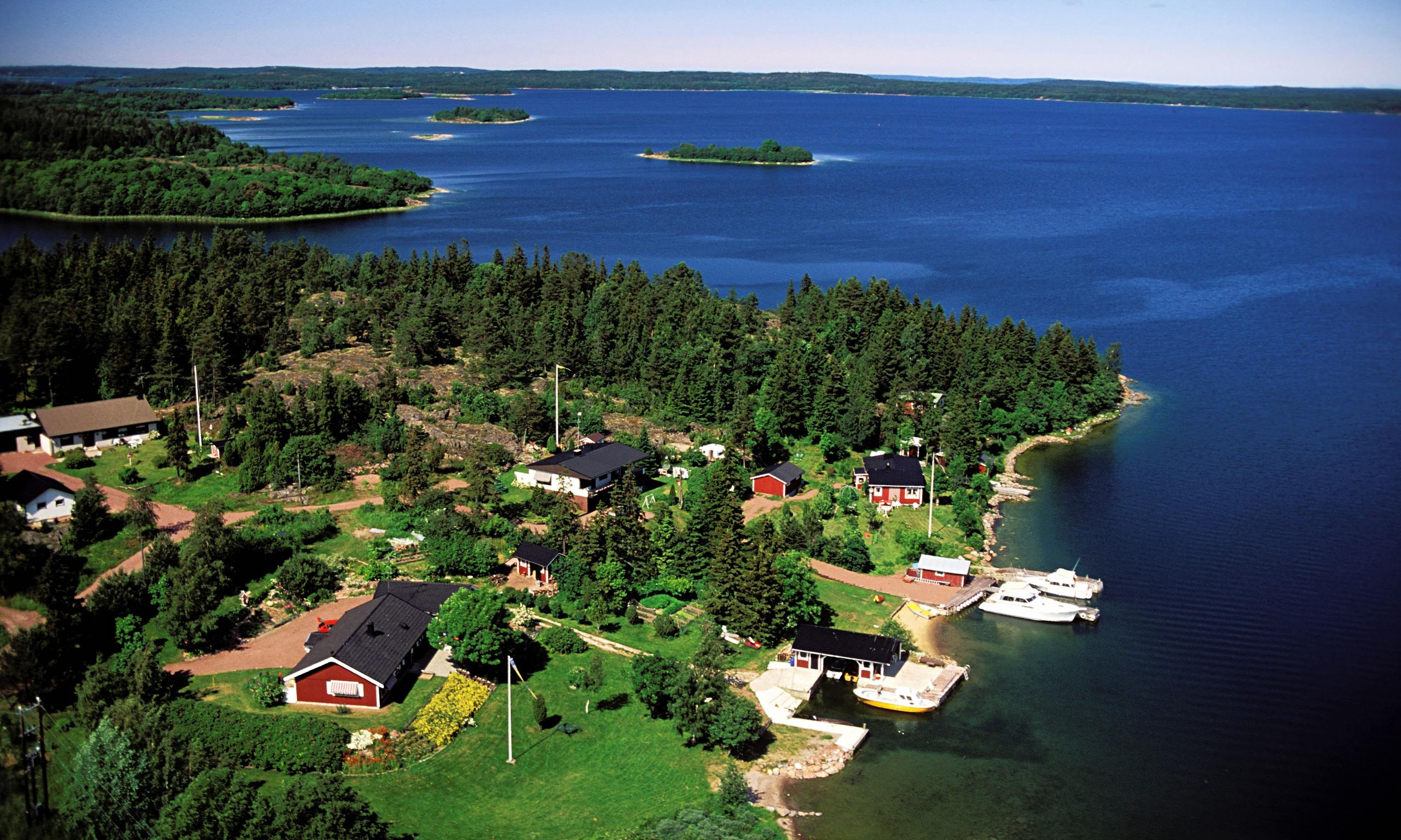 Tiny Cabins Finland A Family Break On The 197 Land Islands Travel