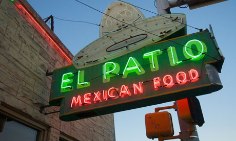 Amazing El Patio Mexican Restaurant, Austin, Texas