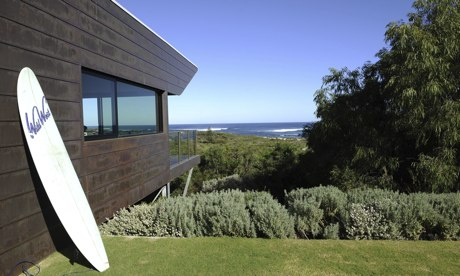 Top 100 holiday beach houses australia and new zealand for Beach house designs western australia