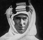 TE Lawrence, better known as Lawrence of Arabia