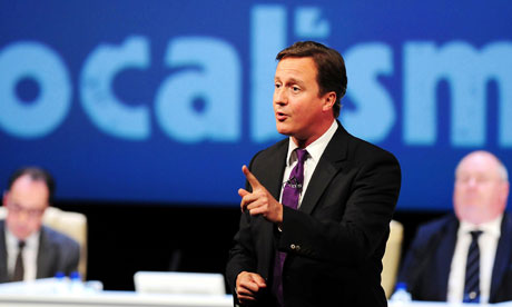 David Cameron at the Local Government Conference in Birmingham